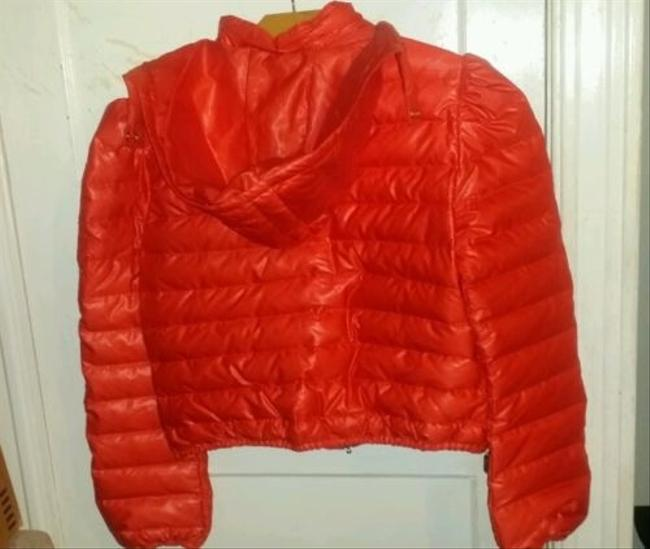 Magaschoni Packable Red Coat