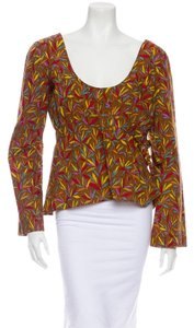 Marni Maternity Top Brown Multi