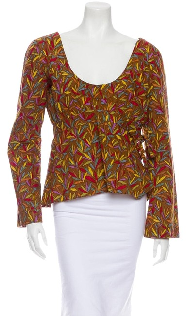 Preload https://item5.tradesy.com/images/marni-brown-multi-blouse-size-10-m-1754849-0-0.jpg?width=400&height=650