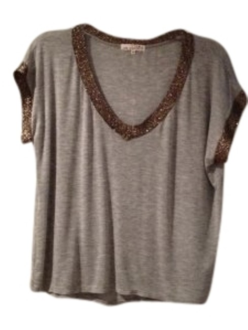 Preload https://item5.tradesy.com/images/one-clothing-grey-and-bronze-night-out-top-size-10-m-175489-0-1.jpg?width=400&height=650
