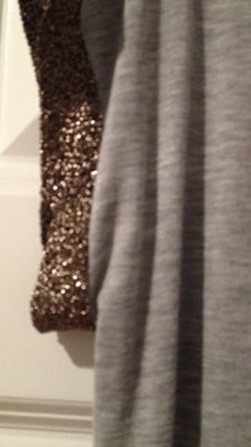 One Clothing Top grey and bronze