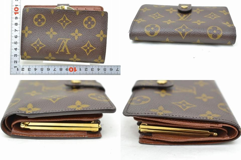 b29be418e64a Gucci Authentic Louis Vuitton Wallet Made In USA Browns PVC Coin Purse  Monogram Image 3. 1234