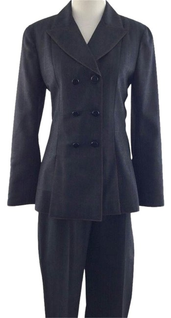 Chanel Double Breasted Blazer and Pant Suit