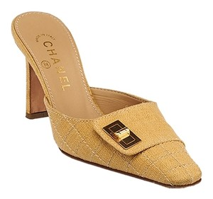 73f466e31650 Yellow Chanel Mules   Clogs - Up to 90% off at Tradesy