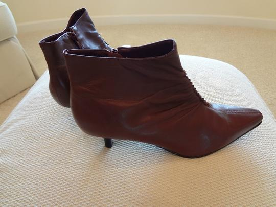 Oasis Burgundy Boots