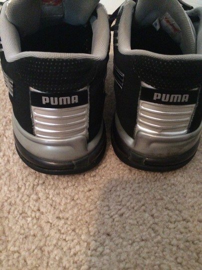 Puma Black & Silver Athletic