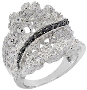 Victoria Wieck Victoria Wieck .95ct Absolute Overlay Lacy Concave Ring - Size 6