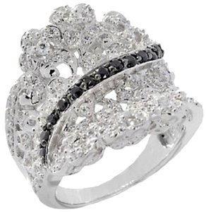 Victoria Wieck Victoria Wieck .95ct Absolute Overlay Lacy Concave Ring - Size 5