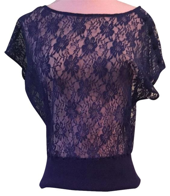 Heritage 1981 Lace Top Blue