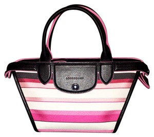 Longchamp Lavish Crossbody Option Tote in Pink