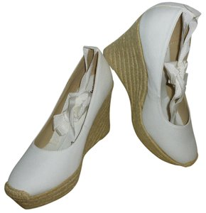 Mossimo White Wedges