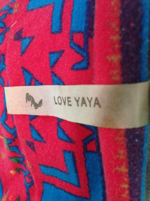 Love YaYa Sexy Printed Bodycon Form Fitting Bustier Bralette Cotton Intermix Dress