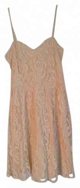 Fire short dress Ivory on Tradesy