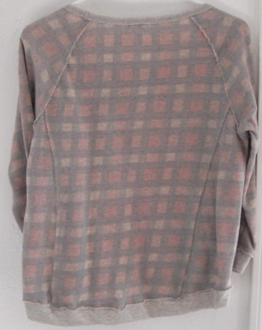Eyeshadow Plaid Casual Sweatshirt