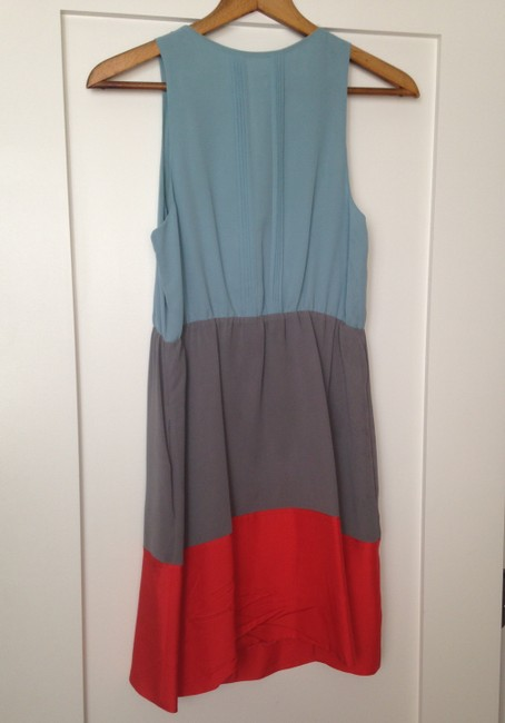 Anthropologie Colorblock A-line Dress