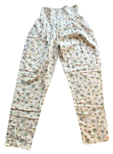 Rebecca Taylor Relaxed Pants White/Multi
