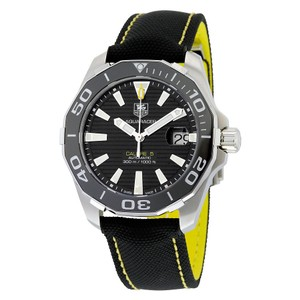 TAG Heuer Tag,Heuer,Aquaracer,Automatic,Black,Dial,Mens,Watch,Way