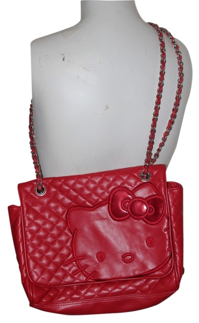 Item - Double Strap New with Tag Red Pvc Shoulder Bag