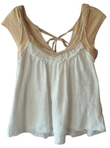Free People Top cream/beige