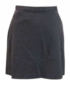 The Limited Spring Summer Casual Work Mini Skirt Gray