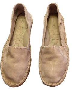Coach Colored With Logo Lightly Imprinted New Bone Flats