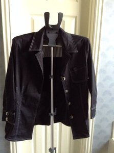 Sharon Young Black Blazer