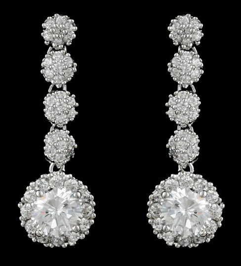Preload https://item2.tradesy.com/images/clear-cz-highest-quality-czrhodium-earrings-1756956-0-0.jpg?width=440&height=440