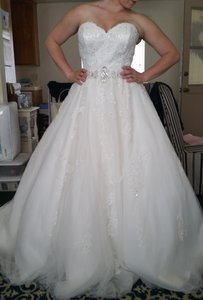 Alfred Angelo Ball Gown Wedding Dress