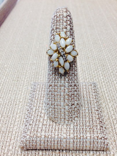 Other White Opal and White Diamond Vintage Ring.