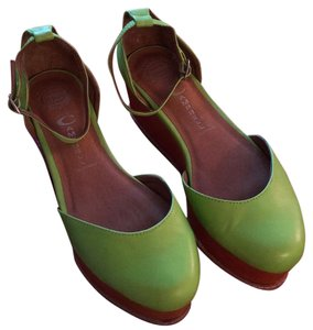 Jeffrey Campbell Green Platforms