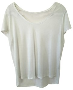 Vince Casual Basic T Shirt White