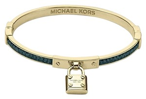 Michael Kors Padlock Hinge Bangle Bracelet