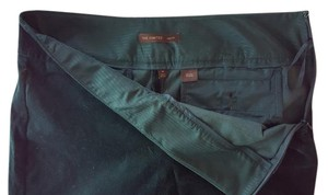 The Limited Drew Fit Velvet Emerald Skinny Pants Emerald Green
