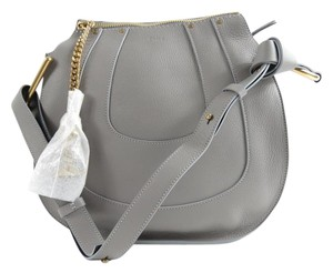 Chloé Hayley Grey Gray Hobo Bag