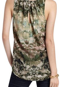 Anthropologie Top Green multi