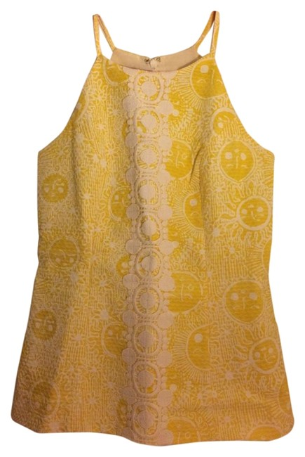 Item - Yellow- Kissed By The Sun Annabelle Halter Top Size 0 (XS)
