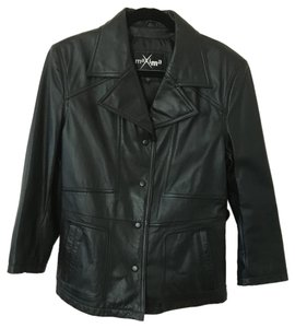 Wilsons Leather Leather Black Classic Leather Jacket