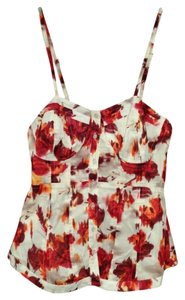 LC Lauren Conrad Top Red Coral