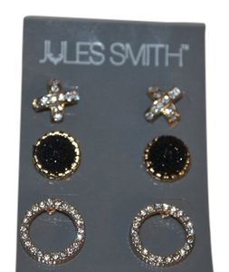 Jules Smith NWT JULES SMITH SET OF THREE PIERCED EARRINGS $80 JSDW02