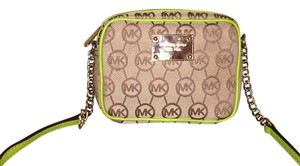 Michael Kors Monogram Canvas Cross Body Bag