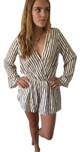 Swell Bold Stripe Plunge Romper Dress