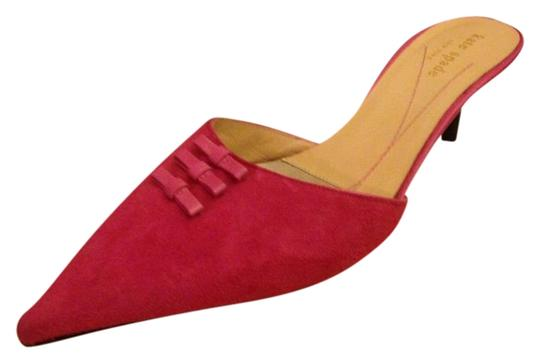 Preload https://item4.tradesy.com/images/kate-spade-suede-rasberry-fuchsia-pink-mules-1757608-0-1.jpg?width=440&height=440