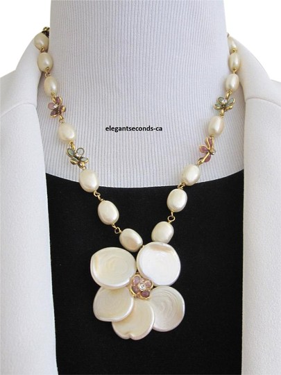 Preload https://img-static.tradesy.com/item/17576476/chanel-creamy-faux-pearls-gold-plated-pink-and-light-green-gripoix-stone-final-sale-rareauth-vintage-0-1-540-540.jpg