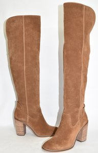 Dolce Vita Over The Knee Tall SADDLE SUEDE Boots
