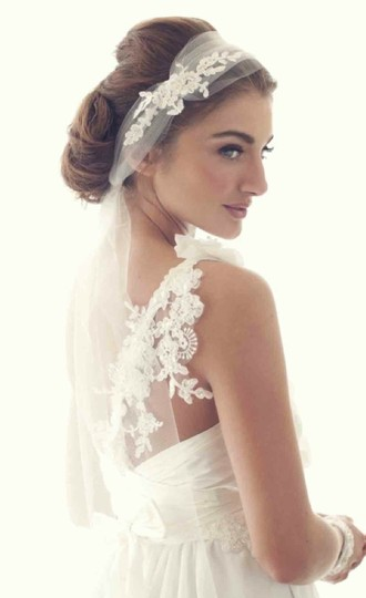 Tulle and Lace Headpiece Hair Accessories