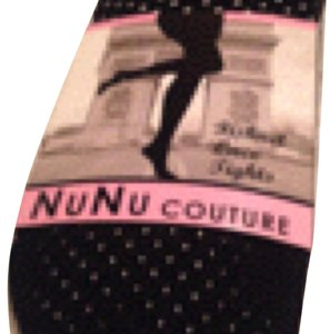 NuNu couture NuNu Couture Ladies Black Fishnet Lace Tights Size M/L