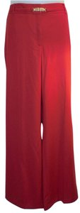 Talbots Trouser Pants Red