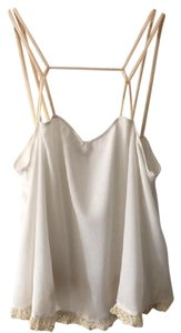 Free People Summer Flowy Top White