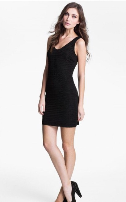 Preload https://item5.tradesy.com/images/black-textured-jersey-above-knee-night-out-dress-size-2-xs-1757774-0-0.jpg?width=400&height=650