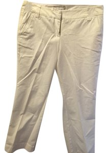 New York & Company Flare Pants Winter white